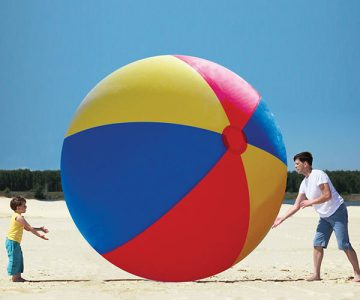 Gigantic Beach Ball