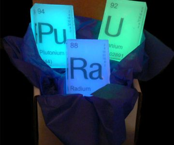 Glow in the Dark Periodic Table Soap