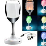 LED Wine Cup Table Lamp
