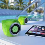 Mengo AquaCube Waterproof Portable Bluetooth Speaker