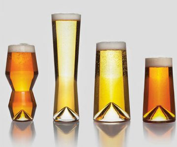 Monti Birra Beer Glasses