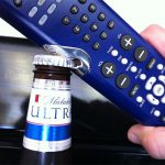 2-in-1 TV Remote and Bottle Opener