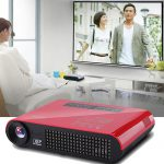 4k DLP Mini Portable Home Theater Projector