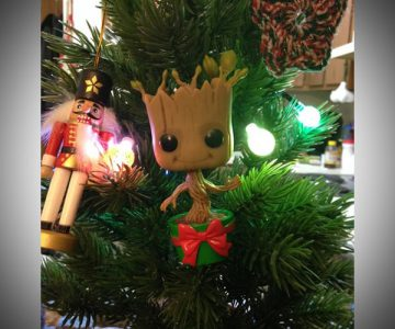 Marvel Guardians of the Galaxy Holiday Dancing Groot