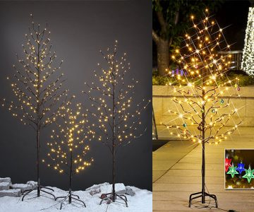 Twinkling Star Decoration Light Tree