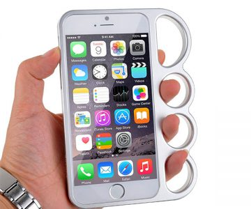 Bumper Knuckle Punch Case for iPhone