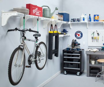 Expandable Garage Shelves