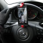 GoSmart Steering Wheel Smartphone Mount