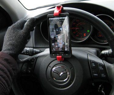 GoSmart Steering Wheel Smartphone Mount
