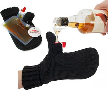 Mitten Glove Drinks Flask