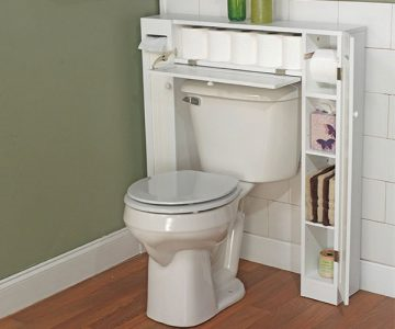 Over the Toilet Cabinet Bathroom Space Saver