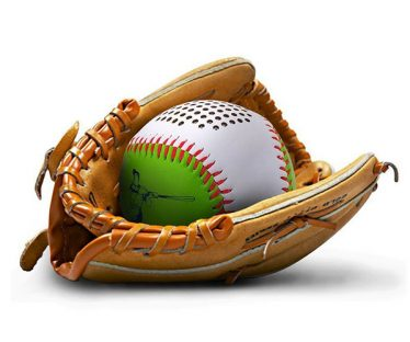 Portable Baseball Outdoor Bluetooth Speaker