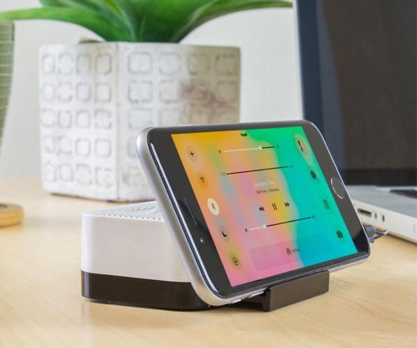 Portable Rechargeable Speaker Stand by Satechi