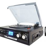Turntable with Built in Speakers + LCD Display