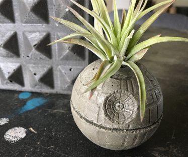 Star Wars Death Star Planter
