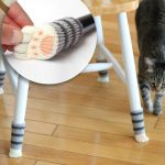 Chair Socks with Cat Paws
