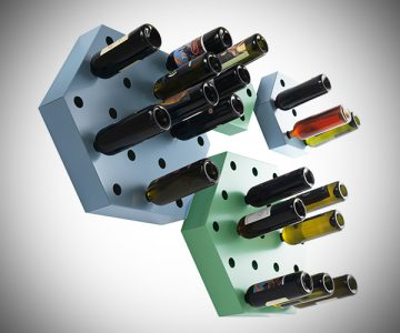Hexagon Maxi Bottle Holder