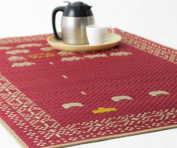 Space Invaders Tatami Rug