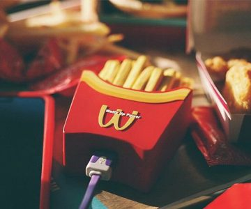 French Fries Power Bank