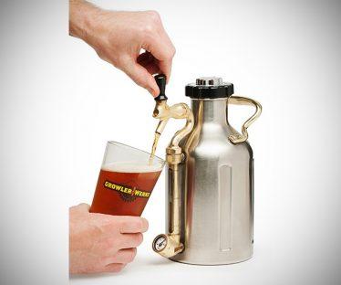 uKeg Growler for Craft Beer