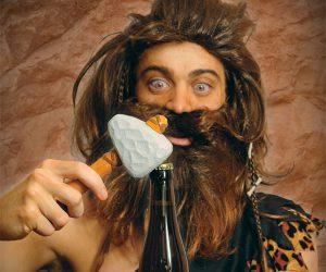Caveman Stone Age Bottle Opener