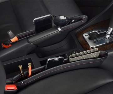 Car Seat Caddy Organizer and Gap Filler