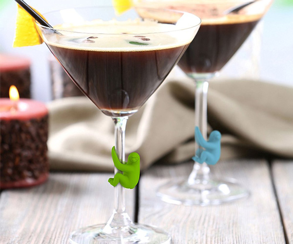 Social Climbers Sloth Drink Markers