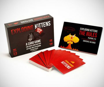 Exploding Kittens NSFW Edition Card Game