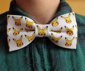 Pokemon Pikachu Bowtie
