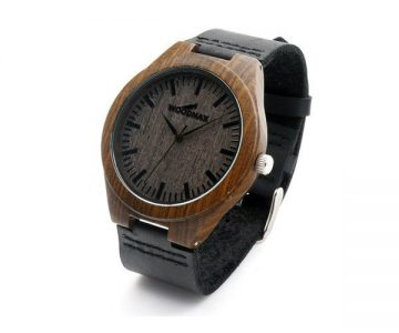 Black Bamboo Watch