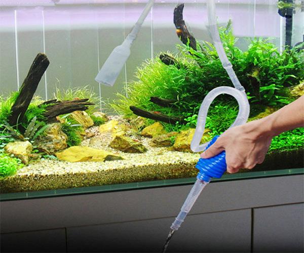 Aquarium Siphon Vacuum Filter Pump Pipe