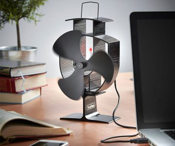 VonHaus Blade Stove Fan with USB