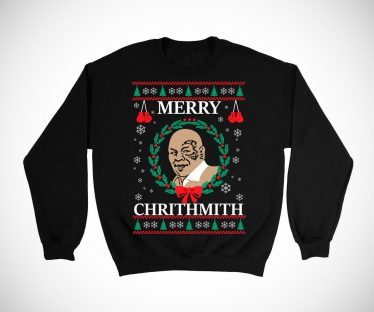 Mike Tyson Merry Christmas ChrithMith Sweater