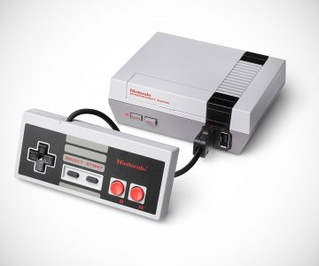 Miniature Classic Nintendo Entertainment System NES