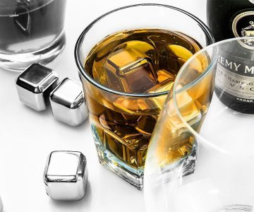 Stainless Steel ICE Cubes Drink Chillers