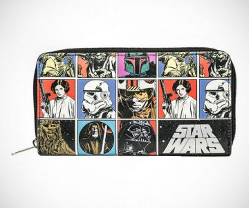 Star Wars Cast Zip Around Wallet