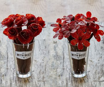 Beef Jerky Floral Bouquets