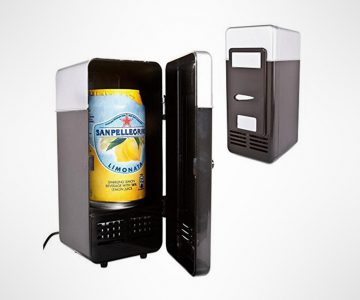USB Mini Fridge Drink Cooler & Heater