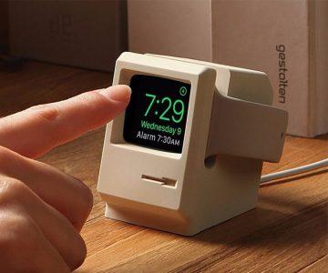 Apple Watch W3 Stand 1984 Macintosh Computer