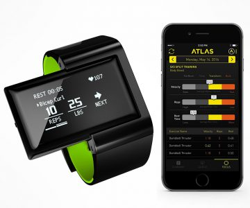 Atlas Digital Trainer & Heart Rate Wristband
