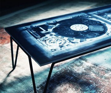 Diesel with Moroso Xraydio 2 Disc Coffee Table