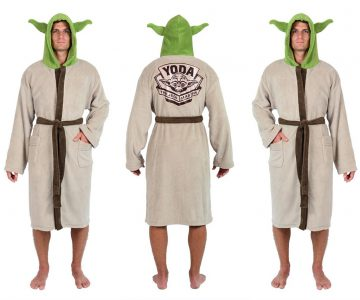 Star Wars Yoda The Jedi Master Fleece Robe