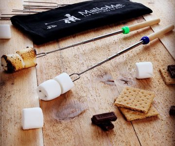Telescopic Marshmallow Roasting Skewers