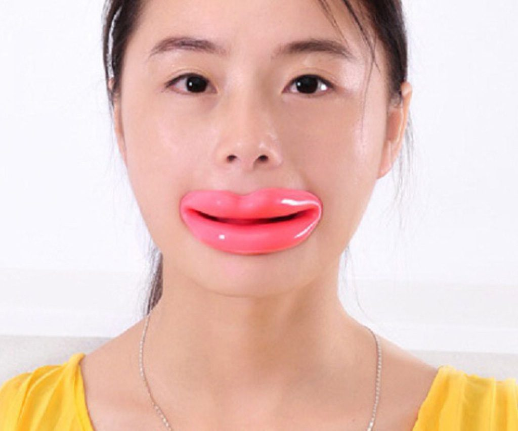 Face Slimmer Mouthpiece Give Sagging Facial Skin A Lift